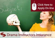 Drama Instructors Liability Insurance
