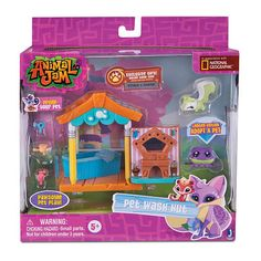 "Animal Jam Pet Wash Hut Playset - JazWares, Inc - Toys ""R"" Us"