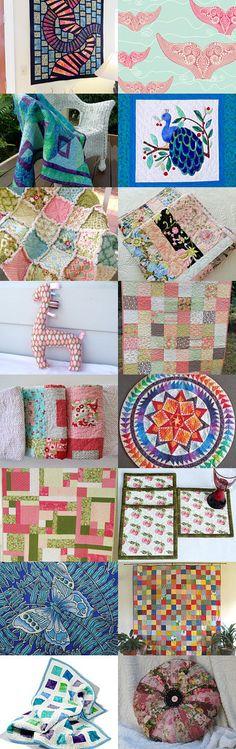 Quilts Quilts Quilts by Carol-Ann on Etsy--Pinned with TreasuryPin.com #QQQ #EtsyQQQ