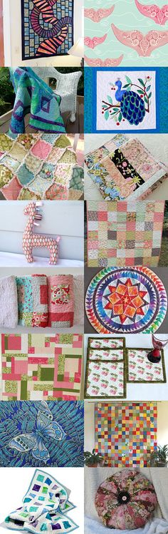 Quilts Quilts Quilts by Carol-Ann on Etsy--Pinned with TreasuryPin.com #QQQ #EtsyQQQ