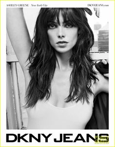 Ashley Greene - Brunette - Bangs - Hairstyle - Layers - Hair
