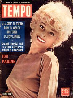 Comedy star Maria Luisa Mangini, aka Dorian Gray (19th November 1960).