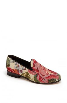 Cecelia+Bringheli+Cb+Made+in+Italy+Cotton+Slipper+Flats+Multi+Floral+36+|+Footwear