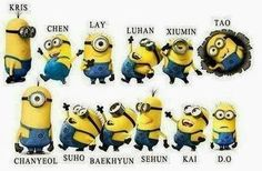 This is so true, I'm not even kidding you. If someone asks me what Exo looks like, I will show them this.