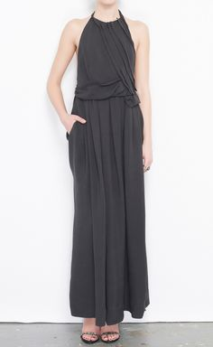 Cacharel Charcoal Dress