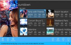Big Days Countdown app for your windows, android and iphone... download now!