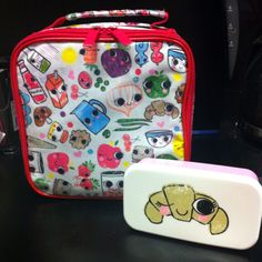 Lunch Box, awww  #lunchbox #lunch #box #bento #croissant #cute #kawaii #Tirabaralla