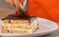 Tarta de la abuela Tapas, Chocolate Fundido, Creative Food, Tiramisu, Cheesecake, Ethnic Recipes, Desserts, Chocolate Frosting, Strawberry Sorbet