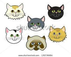 how to draw a cartoon cat face Cartoon Drawings, Cute Cartoon, Cat Face Drawing, Cute Cat Face, Sewing Toys, Cat Art, Painting Inspiration, Pikachu, Kitty