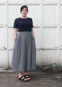 Planning your pieces- Winslow Culottes
