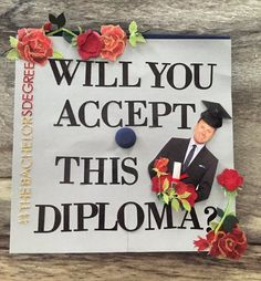 A graduate who prefers a diploma to a rose.