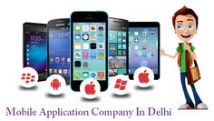 Top-notch Mobile Application Design services available at an exciting price! | Looking for a Mobile Application Company In Delhi? Presenting Web Solution Centre, the most reliable company in town, having an extensive experience of designing mobile success for varied businesses and industries.