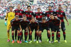 Germany's staring xl for their friendly against Cameroon