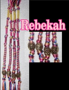 Rebekah Tzitzits by AriellaHannah on Etsy