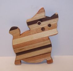 Kitty  Cheese Cutting Board by tomroche on Etsy, $15.00