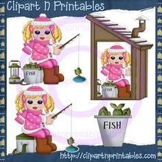 Ice Fishing Girls Blonde 1
