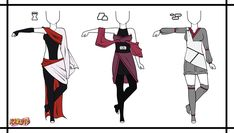 Naruto Adoptable Outfit Set 7 - Closed by Orangenbluete on deviantART