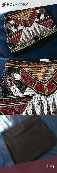 Stones skirt Super special mini skirt full of stones in the front Pull&Bear Skirts Mini