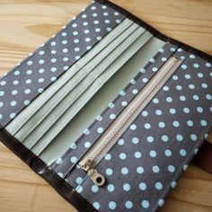 artchala handmade: Bifolded Long Wallet