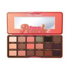 Too Faced Chocolate Bar & Bon Bons & Semi Sweet Peach Eyeshadow Palette Makeup