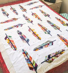 Field Study Feather Bed Quilt | Olivia Jane