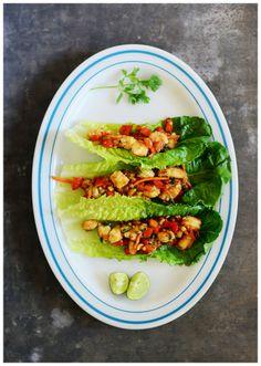 Shrimp Lettuce Wraps @ fit, fun & delish!