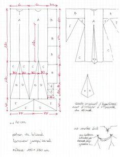 Image - mon patron © la robe médiévale - Blog de MademoiselleDuBonbon - Skyrock.com