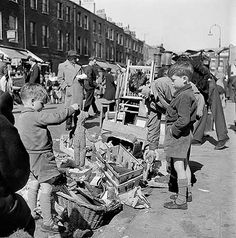 Inverness Street, Camden Town, Greater London, by John Gay London Pictures, London Photos, London History, British History, Vintage London, Old London, Bermondsey London, Camden Town, English Heritage
