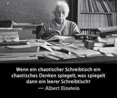 Einstein chaotisch