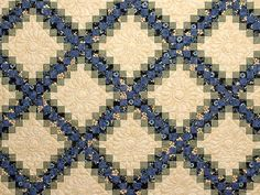 Blue Green and Tan Triple Irish Chain Quilt Photo 3 Quilting Projects, Quilting Designs, Quilting Ideas, Patch Quilt, Quilt Blocks, Celtic, Irish Chain Quilt, Signature Quilts, Quilt Labels