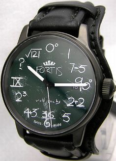Fortis IQ Watch 1 Fortis IQ Watch being the math nerd I am I love this watch!!!!!