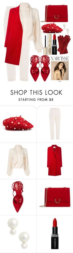 """🌹"" by fashioneex ❤ liked on Polyvore featuring Jil Sander, Chloé, Lanvin, Jean-Michel Cazabat, MANGO, Kate Spade, Yves Saint Laurent, Smashbox and Smith & Cult"