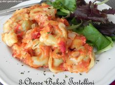 An Expat Cooks : Baked Tortellini--Cheesy comfort food at it's best! Italian sausage makes a great addition. Tortellini Bake, Pasta, How To Make Sausage, Cheese, Baking, Dinner, Casseroles, Recipes, Rice
