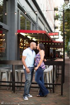 Nicole + Trey: Promised. A Downtown Memphis Engagement. // Memphis Wedding Photography by Amy Hutchinson Photography. #wedding #bride #photography #memphis