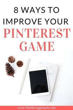 Looking for Pinterest tips? Learn how to use Pinterest to get more blog traffic, increase your income and grow a loyal following. Blogging tips and Pinterest tricks from a social media expert! Read full post on The She Approach.
