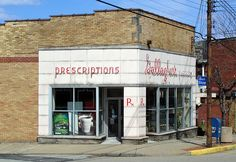 Gallagher's Pharmacy, Duquesne, Pa. A lot of good memories: soda fountain. Came here after CCD for ice cream and wait for the bus. 5 cents for the bus to school early 50's.