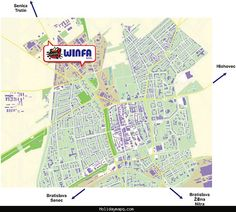 awesome Map of Trnava