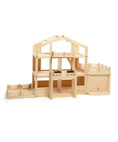 Another great find on #zulily! 'Home Is Where the Heart Is' Dollhouse Play Set #zulilyfinds