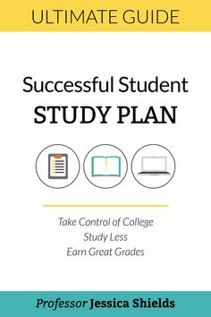 Stressed out trying to balance school, work, family, and life? Work through The Successful Student Study Plan using the three free planners to take control of school and become a successful student. | Study Tips for College, study tips, college study tips, university study tips, online student study tips, online course study tips, study strategies, study faster, study better, study habits, study hacks, study schedule, college study skills, how to study in college, online study tips