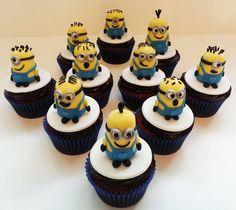 Hello Cakes by Vanessa - Miami Beach, FL, United States. Minion 3D cupcakes
