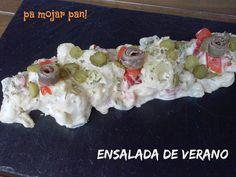 pa mojar pan!: Ensalada de verano