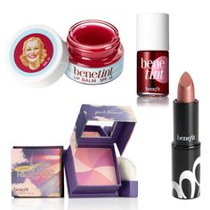 Stylish Make up,can anyone else wait for christmas to get the new benefit gift set??x