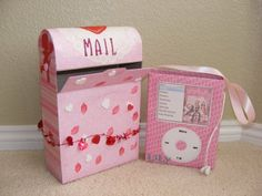 Paper Jewels and other Crafty Gems: Valentine Boxes