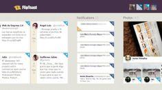 Cinco aplicaciones para utilizar tus redes sociales con Windows 8 La Red, Desktop Screenshot, Geek Stuff, Socialism, Social Networks, Tecnologia, Geek Things