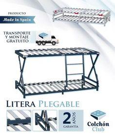 Litera plegable Verticalmente con sistemas hidráulicos Ref T56000