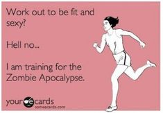 Fitness Guide to Surviving a Zombie Apocalypse - Outdoorsy Assassin, some great survival infographics