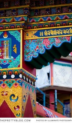 Colourful Nepali architecture | Photo: Illuminate Photography