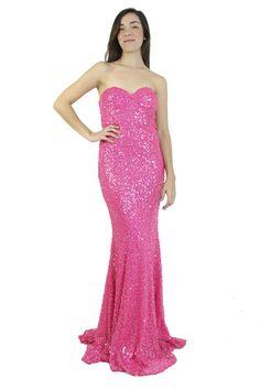 Mignon Vestido rosa de lentejuelas, Miranda