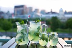 The Bonsecours Sangria Summer Drink Recipes, Sangria Recipes, Summer Drinks, Cocktail Drinks, Fun Drinks, Cold Drinks, Alcoholic Drinks, Beverages, Cocktails