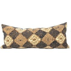 Antique Batik Lumbar Pillow (9,405 PHP) ❤ liked on Polyvore featuring home, home decor, throw pillows, pillows, star throw pillow, indigo throw pillows, antique home decor and star home decor